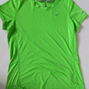 Nike running dri-fit tee (size medium)